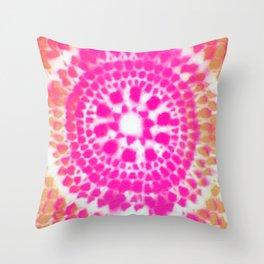 Scale Mandala 4 Throw Pillow