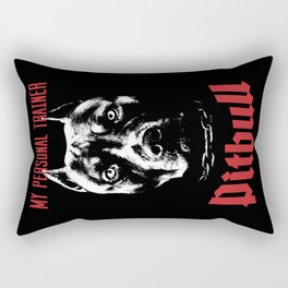 Pitbull My Personal Trainer Rectangular Pillow