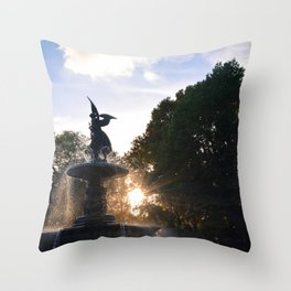 Sneak Peek Throw Pillow