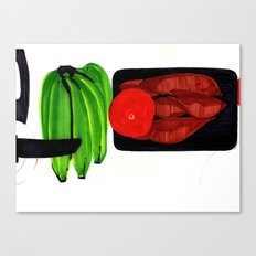 Bananas and Yam Canvas Print