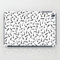 the strokes iPad Cases featuring Strokes by elena + stephann
