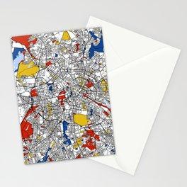 Berlin mondrian Stationery Cards