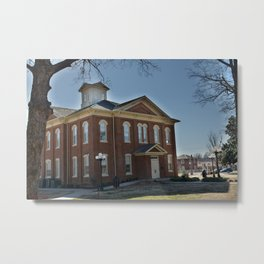 Cherokee Nation - Capitol in Tahlequah, No. 1 of 3 Metal Print