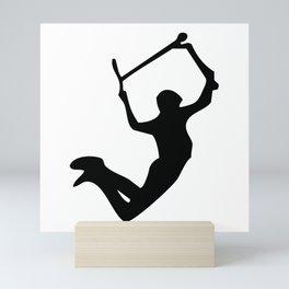 Scooter freestyle stunt Mini Art Print