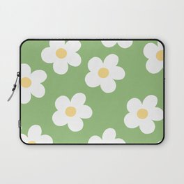 Retro 60's Flower Power Print 2 Laptop Sleeve