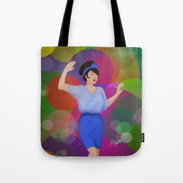 Champagne Shine Tote Bag