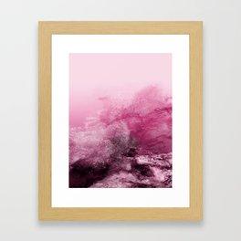 sea ocean wave Framed Art Print