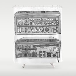 Jx3 Music Series - TWO Shower Curtain
