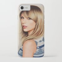 1989 iPhone & iPod Cases featuring Taytay 1989 by The Art Of Dreams
