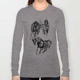 Horses (Trio) Long Sleeve T-shirt