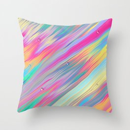 Psychedelia I Throw Pillow