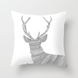 Stag / Deer Throw Pillow