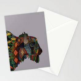 bison heather Stationery Cards