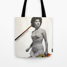 In Search of Absolutely Nothing Tote Bag