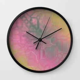 future fantasy rush hour Wall Clock