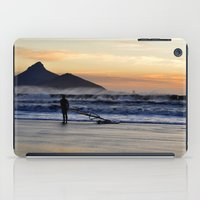 south africa iPad Cases featuring Sunset Beach - South Africa by The 3rd Eye