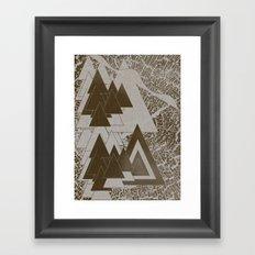 Line Drawing 2 Framed Art Print
