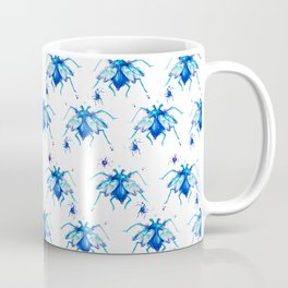 Mr. Blue pattern Coffee Mug