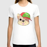 shiba T-shirts featuring fashion shiba by Donald