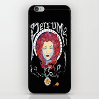 perfume iPhone & iPod Skins featuring Perfume by Paul Bridgeman