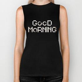 GOOD MORN/NG Biker Tank