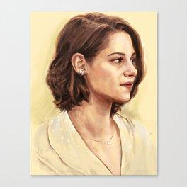 Kristen Stewart as Vonnie Canvas Print