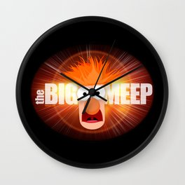 The Big Meep Wall Clock