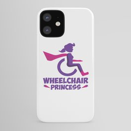 Funny Wheelchair Walking Disability Carer Gift iPhone Case