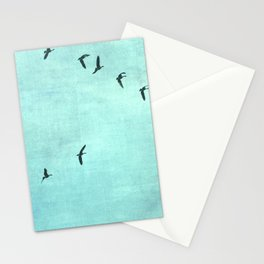 GEESE FLYING Stationery Cards
