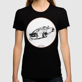 Crazy Car Art 0122 T-shirt