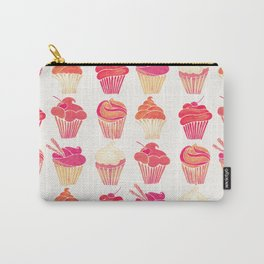 Cupcake Collection – Pink & Cream Palette Carry-All Pouch