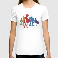 teen titans T-shirts featuring [ Teen Titans ] Robin, Starfire, Raven, Beast Boy and Cyborg by Vyles