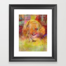 Come listen to a beautiful lie  Framed Art Print