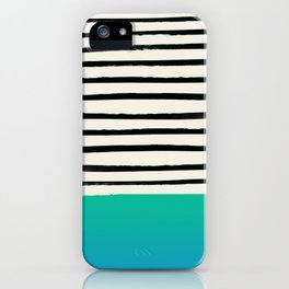 Mermaid & Stripes iPhone Case