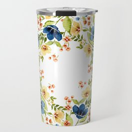 Fall into Blue Travel Mug