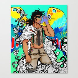 Thunder Canvas Print