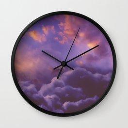 Memories of Thunder Wall Clock