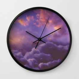 Memories of Thunder Wall Clock