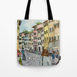 A Stroll Through Florence Tote Bag