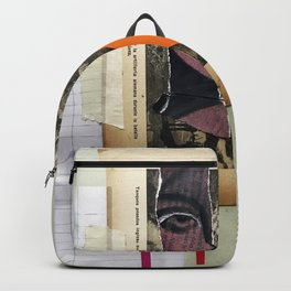 Frontal Collage Backpack