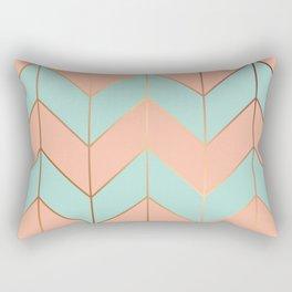 Marble Geometry 059 Rectangular Pillow
