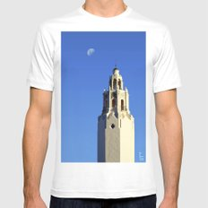 Spanish Tower MEDIUM Mens Fitted Tee White