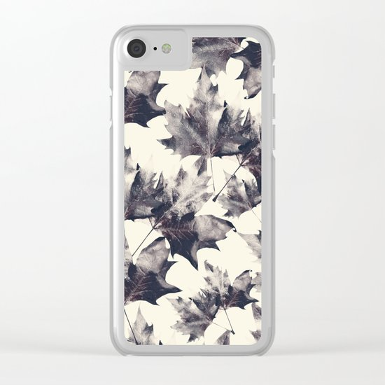 LEAVES 5 Clear iPhone Case