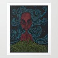 Crazy  Art Print