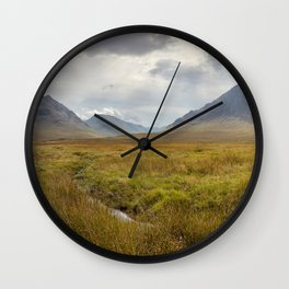 Glencoe, Scottish Highlands Wall Clock