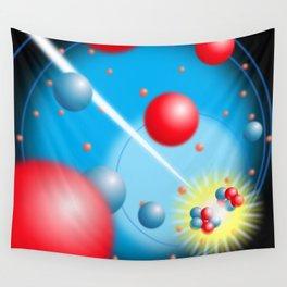 Splitting the Atom Wall Tapestry