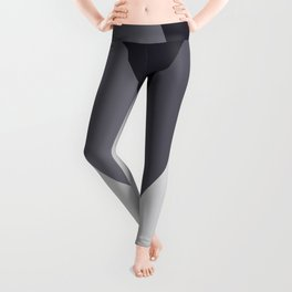 Sawtooth Blue Grey Leggings