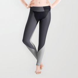 Sawtooth Blue Grey Leggings