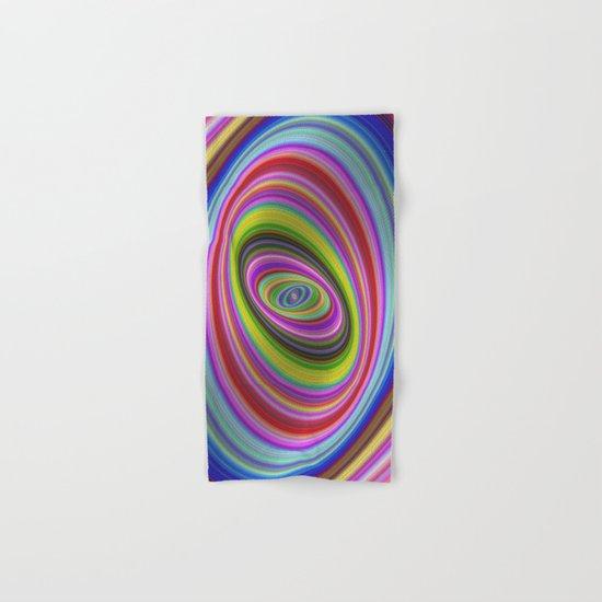 Colorful hypnosis Hand & Bath Towel
