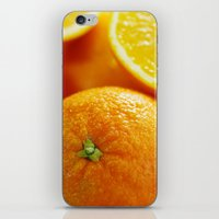 dentist iPhone & iPod Skins featuring Fresh Orange for the Kitchen by Tanja Riedel